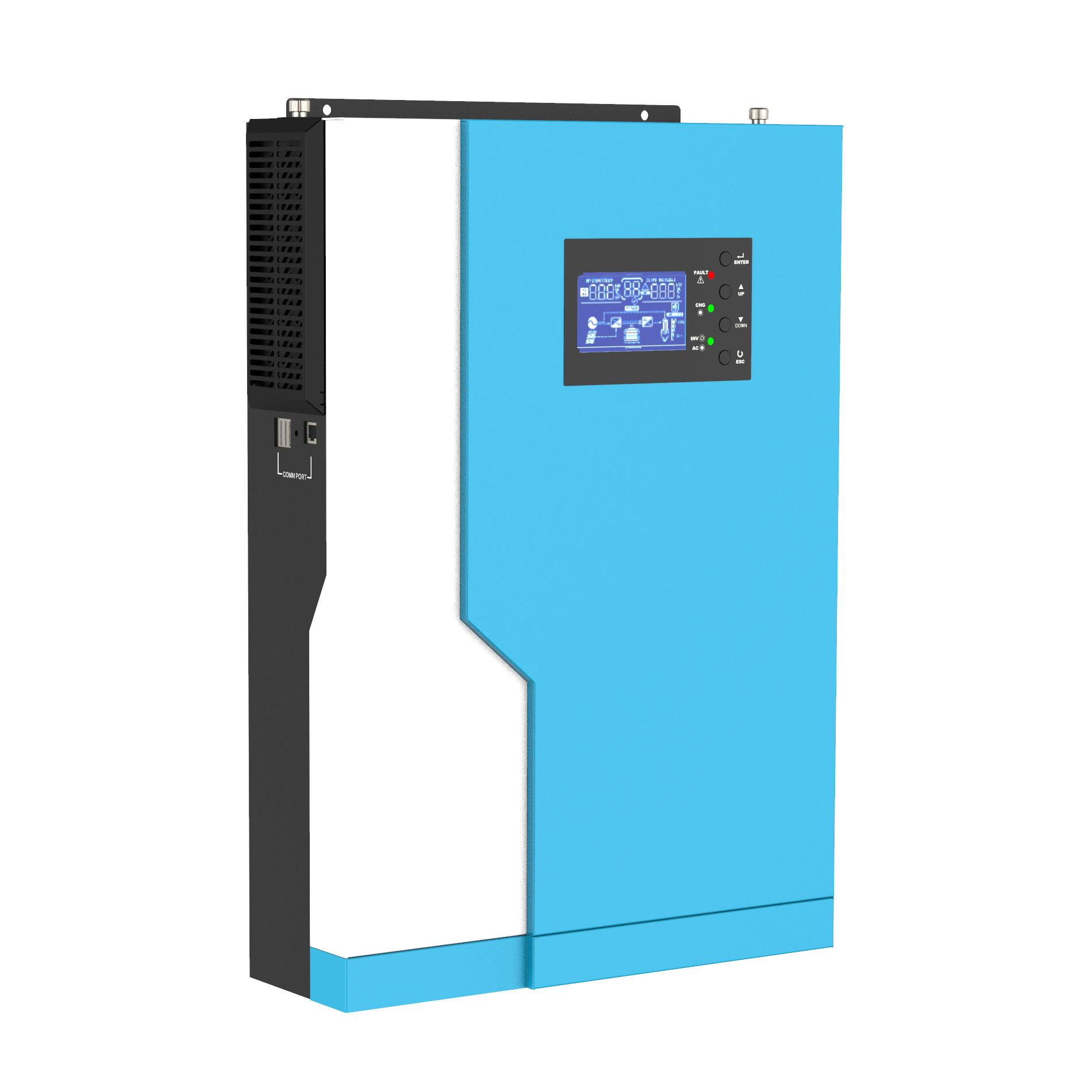 MPS-V Plus Series Hybrid Solar Pure Sine Wave Solar Inverter